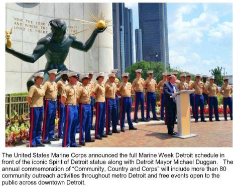 Mayor Duggan Marine Week